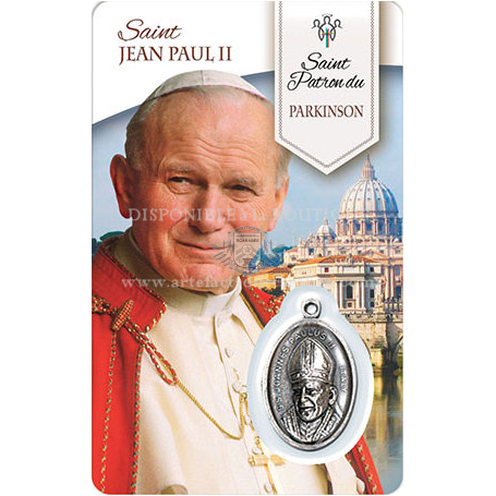 Saint JEAN PAUL II (Parkinson)
