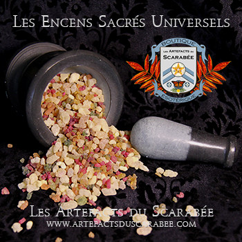 A- Les Encens Sacrés Universels - 7 Archanges (Guidance et +)
