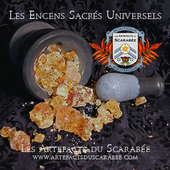 A- Les Encens Sacrés Universels - Gomme Arabique (Protection...)