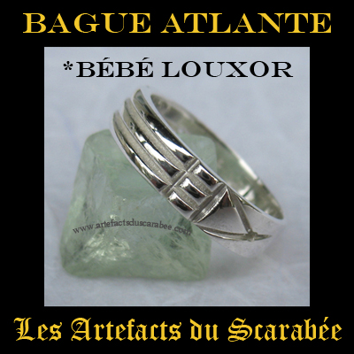 Bague atlante or blanc