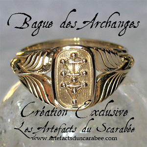 B- BAGUE des ARCHANGES (Femme) -Protection-Guidance (Bronze)
