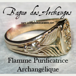 Flamme de Purification Archangélique de la Bague des Archanges