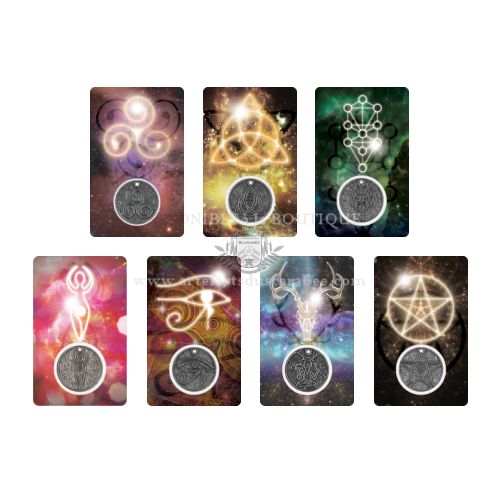 Collection Cartes-Médailles Talismans (Ensemble 7 Cartes)