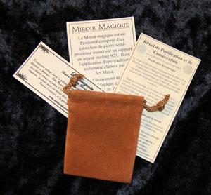 Boutique sot rique artefacts du scarab e miroir magique for Miroir magique obsidienne noire