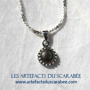 Z cha ne d 39 italie en argent sterling 925 mailles figaro for Miroir magique obsidienne noire