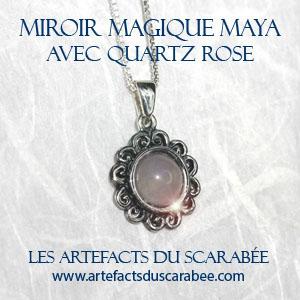 Pendentif miroir magique