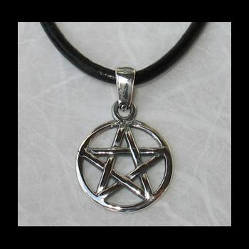 pentacle pentagramme symbole de protection 20x30mm arg 925 boutique sot rique artefacts. Black Bedroom Furniture Sets. Home Design Ideas