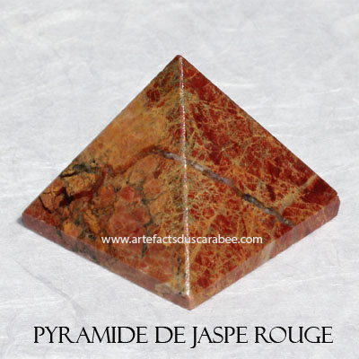 Pyramide de Jaspe Rouge (A) - Enracinement & Transformation