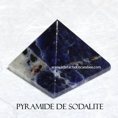 Pyramide de Sodalite (AAA) - Communication & 6e Sens