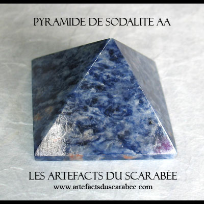 Pyramide de Sodalite (AA) - Communication & 6e Sens