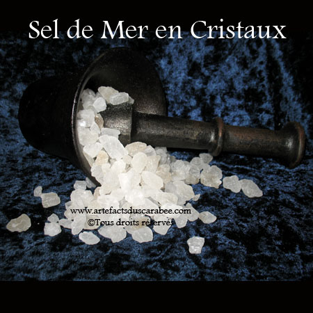 Z-Cristaux de Sel de Mer - 050g (Purification)