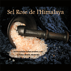 Z-Cristaux de Sel Rose de L'Himalaya - 050g (Purification)
